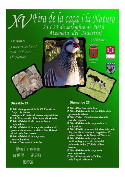 Feria de la caza y la naturaleza de Atzeneta del Maestarat