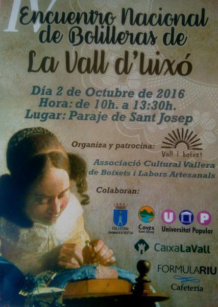 Encuentro Nacional de Bolilleras de La Vall d'Uixó