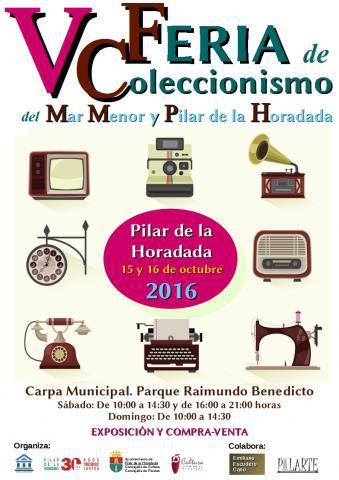 VC Feria de Coleccionismo del Mar Menor y Pilar de la Horadada en Pilar de la Horadada 2016