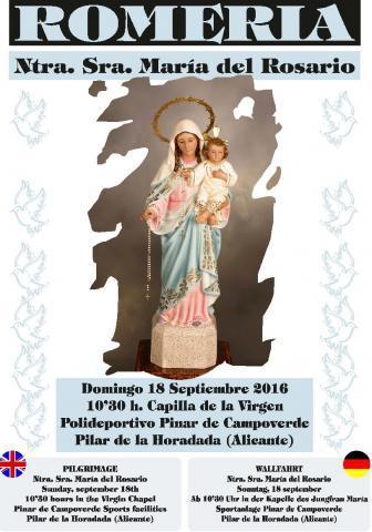 Romeria Ntra. Sra. del Rosario en Pilar de la Horadada 2016