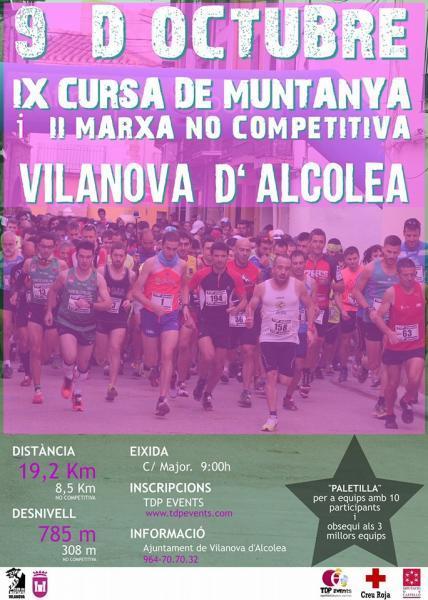 IX Marcha de montaña en Vilanova d'Alcolea