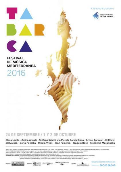 Festival de Música Mediterránea de Tabarca 2016