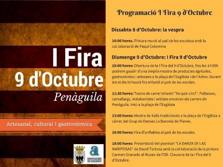 I Fira 9 d'Octubre en Penàguila 2016