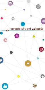 """Exposición """"Connectats pel valencià""""."""