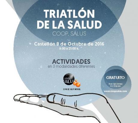 Triatlón de la salud en Castellón