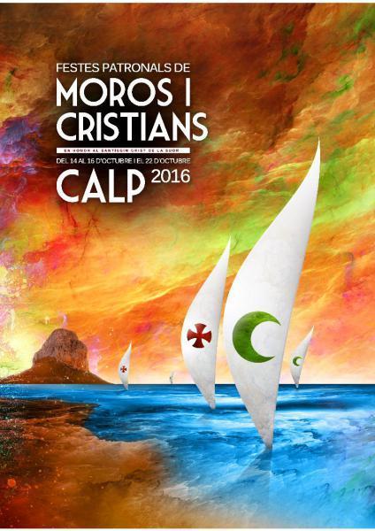 Fiestas Patronales Moros y Cristianos Calp 2016