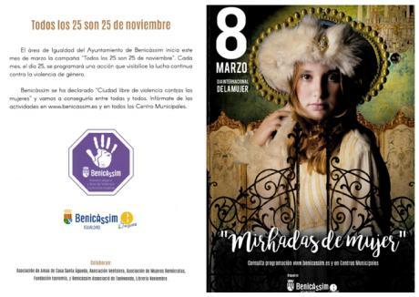 Programación Día Internacional de la mujer 2017 Benicàssim