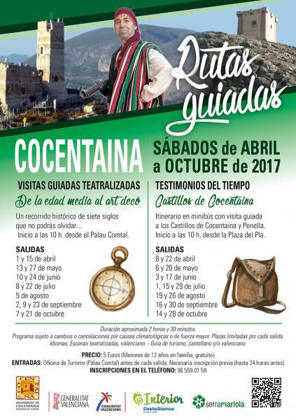 Programa de visitas guiadas y teatralizadas de Cocentaina
