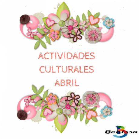 Benissa | Actividades Culturales | Abril