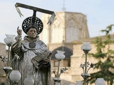 Festividad de San Vicente Ferrer en Valencia