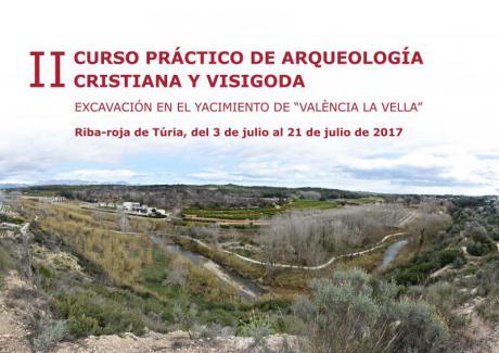 Abierta la Inscripción al II Curso Práctico de Arqueología Cristiana y Visigoda en València la Vella