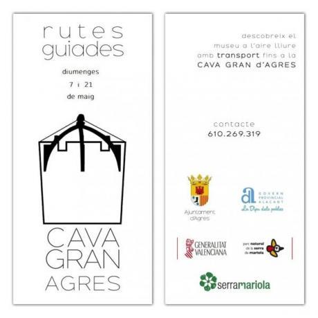 VISITAS GUIADAS CON TRANSPORTE A LA CAVA GRAN DE AGRES