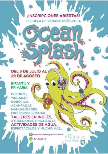 ESCUELA DE VERANO DE PEÑISCOLA OCEAN SPLASH