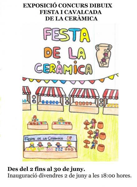 XI Concurso de Dibujos 'Festa i Cavalcada de la Ceràmica de Manises'