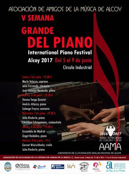 V Semana Grande del piano