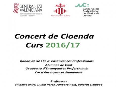 Concierto de Clausura del Conservatorio
