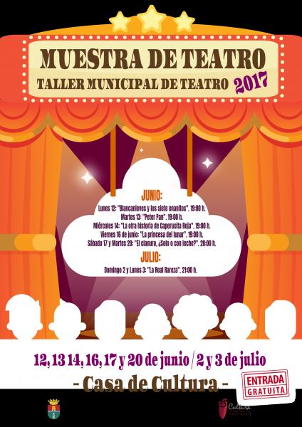 """Muestra del Taller Municipal de Teatro: """"El cianuro, ¿Sólo o con leche?"""" en Pilar de la Horadada 2017"""