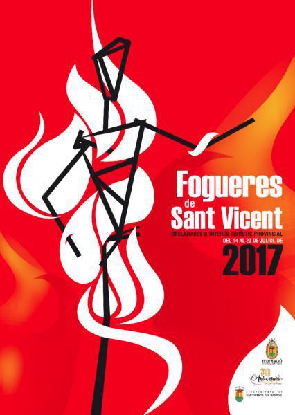 HOGUERAS SAN VICENTE DEL RASPEIG 2017