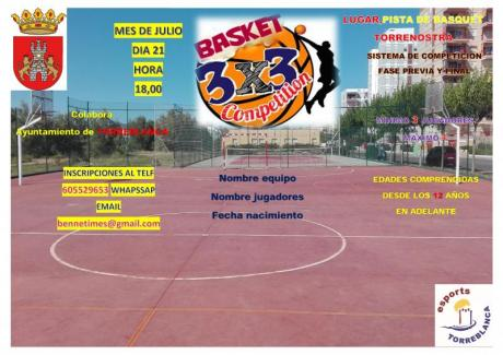 Basket 3x3 competition