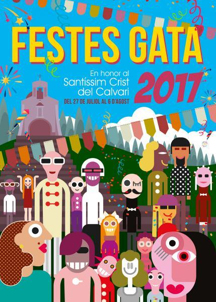 Events Programming of the Fiestas of Santísimo Cristo del Calvario 2017