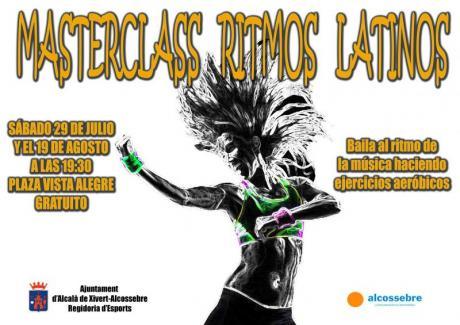 Masterclass Ritmos Latinos