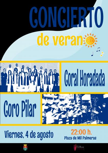 Añadir al cuaderno Concierto del Verano de la Coral Horadada y Coro Pilar en Mil Palmeras en Pilar de la Horadada 2017
