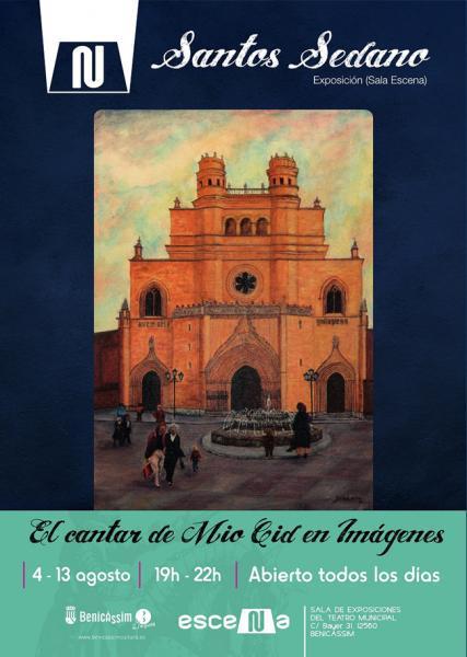 Exposición de Santos Sedano: El cantar de Mio Cid en imágenes