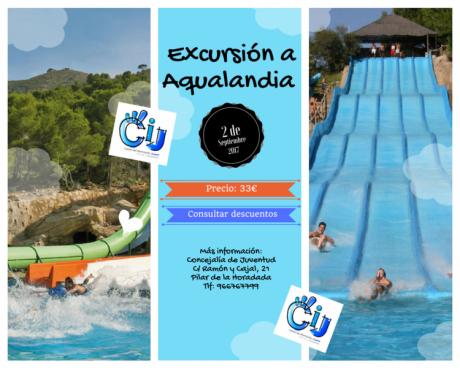 Excursión a Aqualandia Benidorm en Pilar de la Horadada 2017