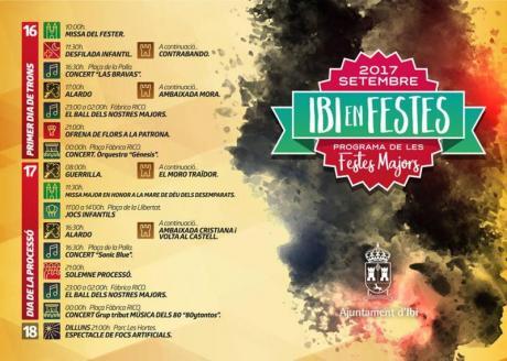 Ibi en Fiestas de Moros y Cristianos 2017
