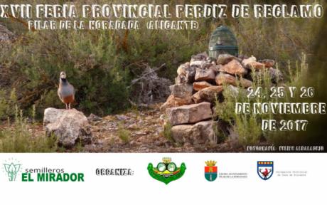 XVII Feria Provincial Perdiz de Reclamo en Pilar de la Horadada 2017