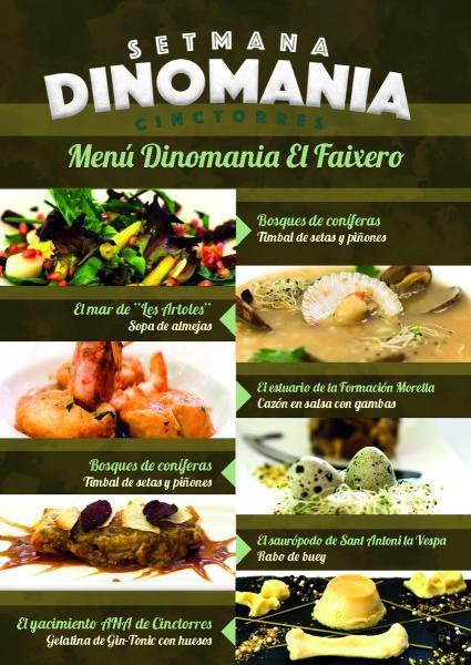 Semana Dinomania en Cinctorres. Del 4 al 18 de noviembre 2017.