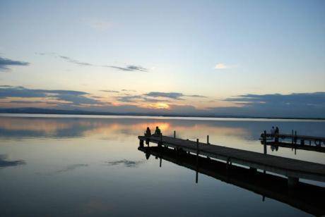 Paseo en barca, ruta en bici por los arrozales y atardecer en L'Albufera