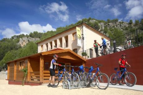 MTB centers to tour the Region of Valencia by bike