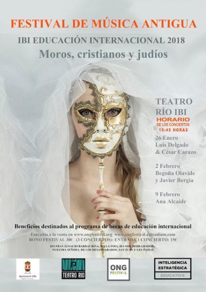 Festival de Música Antigua - Teatro Río Ibi