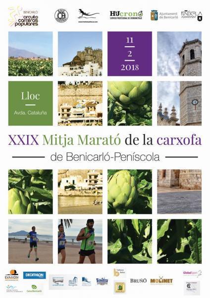 XXIX Medio Maratón de la Alcachofa - Benircarló