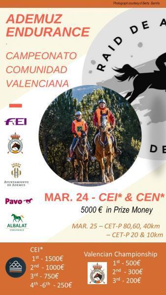 Ademuz Endurance Campeonato Comunidad Valenciana
