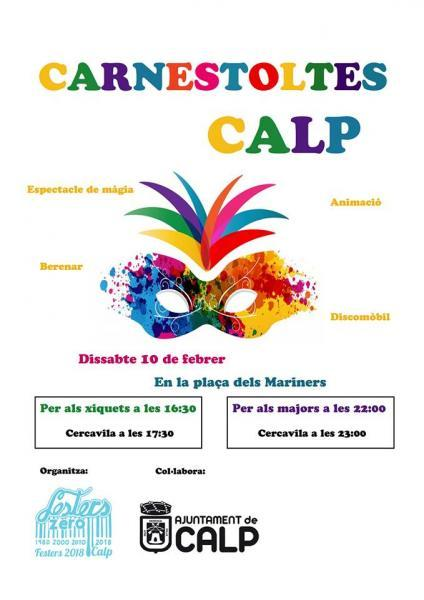 Carnaval /Carnestoltes Calp 2018