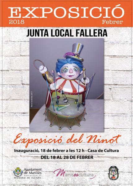 Exposición del Ninot Manises 2018