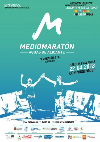 IX Media Maratón Aguas de Alicante 2018