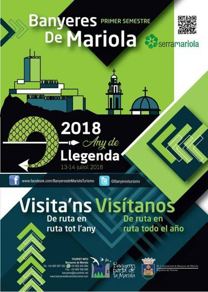 VISÍTANOS. De ruta en ruta todo el año - Banyeres de Mariola (Alacant)