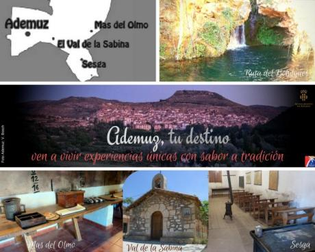 Programa de visitas guiadas a Ademuz y sus aldeas: marzo