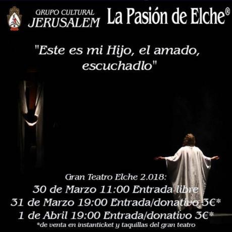 La Pasión de Elche.