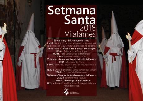 Semana Santa 2018 Vilafamés