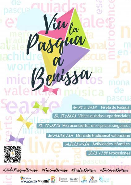 Live the easter in Benissa