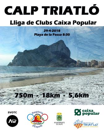 Triatló Lliga de Clubs Caixa Popular en Calp