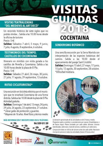 PROGRAMA DE VISITAS COCENTAINA 2018