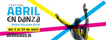 Agenda y actividades programadas para el festival abril en danza 2018
