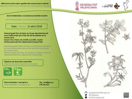 Ruta Etnobotánica. Los usos de nuestras plantas