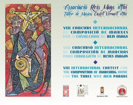 VIII Concurso Internacional de Composición de Marchas para Cabalgatas de Reyes Magos