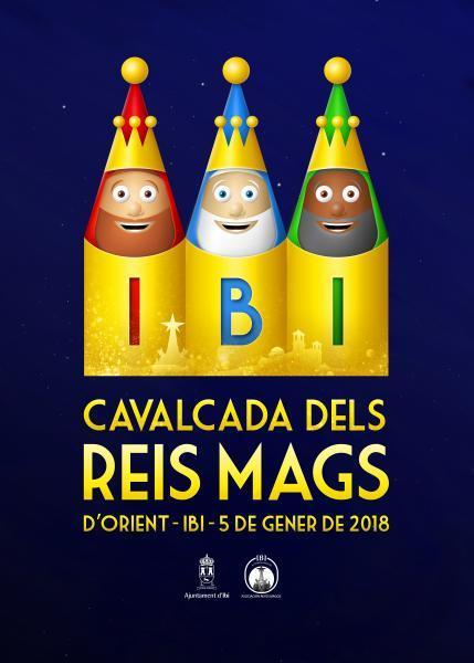II Concurso de carteles para la Cabalgata de Reyes Magos de Ibi 2019
